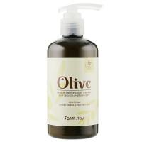 Увлажняющий гель для душа с экстрактом оливы Farmstay Olive Moisture Balancing Body Cleanser 250 мл (8809615881088)