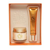 Набор: крем для лица и крем для век с конским жиром Eunyul Horse Oil Cream & Eye Cream Set 70 мл+30 мл
