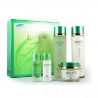 Набор для ухода за лицом с экстрактом зеленого чая Jigott Well-Being Greentea Skincare 3 Set (8809210039839)