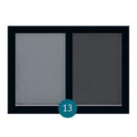 """Бархатные двухцветные тени для бровей Eva cosmetics """"Satin Touch"""" №13 (7015401336)"""