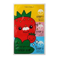 Пластыри для очищения пор с экстрактом семян клубники Tony Moly Strawberry Seeds 3-step Nose Pack 12 г 1 шт (8806358593926)
