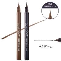 Супер тонкая подводка для глаз Etude House Super Slim Proof Brush Liner #1 Black
