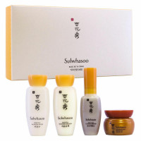 Набор миниатюр средств для ухода за кожей Sulwhasoo Basic Kit 4 шт