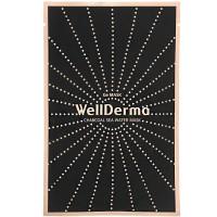 Очищающая тканевая маска с древесным углём и германием Wellderma Charcoal Sea Water Mask 25 мл