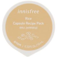 Капсульная ночная маска для лица с рисовым экстрактом Innisfree Capsule Recipe Pack Rice 10 мл (8806173585953)