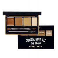 Набор для контуринга бровей Etude House Brow Contouring Kit # 1 Natural Brown 3.8 г (8806199456541)