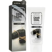Маска-пленка для глубокого очищения кожи лица Jigott Pure Clean Peel Off Pack Charcoal 180 мл (8809541280009)