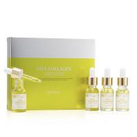Набор антивозрастных ампульных сывороток с витаминами и коллагеном Eunyul Vita Collagen Ampoule Set 4×12 мл (8809435404740)