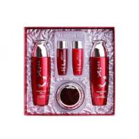 Набор с экстрактом красного женьшеня Daandan Bit Premium Red Ginseng 3 Set (8809541281006)