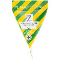 Успокаивающая ночная маска с центелой May Island Seven Days Secret Centella Cica Sleeping Pack 1 шт (8809515400907)