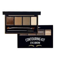 Набор для контуринга бровей Etude House Brow Contouring Kit #2 Gray Brown 3.8 г (8806199456558)