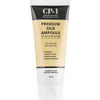 Несмываемая сыворотка для питания волос с протеинами шелка Esthetic House CP-1 Premium Silk Ampoule 150 мл (8809450011022)
