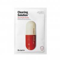 Очищающая маска для лица Dr. Jart+ Dermask Microjet Clearing Solution 30 г (8809380645496)