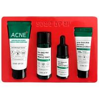 Набор мини средств для проблемной кожи Some By Mi AHA-BHA-PHA 30 Days Miracle AC SOS Kit 4 предмета (8809647390527)