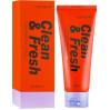 Маска-пленка для упругой кожи лица Eunyul Clean & Fresh Ultra Firming Peel Off Pack 100 мл (8809435404764)