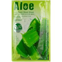 Набор масок для лица с экстрактом алоэ Tony Moly Aloe Daily Fresh Mask Sheet 10шт*15 г
