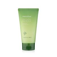Гель-скраб для тела зеленый чай деликатного действия Innisfree Green Tea Pure Body Gel Scrub 150 мл (8809612864862)