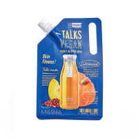 Ночная маска для гладкости кожи Missha Talks Vegan Pocket Sleeping Pack  #  Skin Fitness 10 г