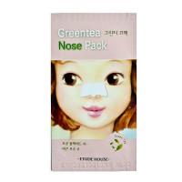 Патч для чистки носа с экстрактом зелёного чая Etude House Green Tea Nose Pack 1 шт (8809587367870)
