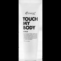 Отшелушивающий скраб для тела с козьим молоком Esthetic House Touch My Body Goat Milk Body Scrub 250 мл (8809450011411)