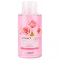 Тонер для лица с розовой водой The Saem Botanica Rose Moisturizing Toner 400 мл (8806164132920)