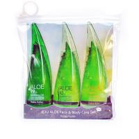 Набор для лица и тела с экстрактом алоэ вера Holika Holika Aloe Face And Body Care Set 55 мл*3 (8806334361440)