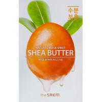 Тканевая маска для лица с экстрактом масла Ши The Saem Natural Shea Butter Mask Sheet 21 мл (8806164158951)