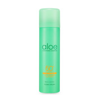 Увлажняющий и охлаждающий солнцезащитный спрей Holika Holika Aloe Ice Cooling Sun Spray SPF 50+ PA ++++ 100 мл (8806334381295)