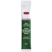 Питательная ночная маска для лица с центеллой VT Cosmetics Cica Nutrition Sleeping Mask 4 мл (3229)