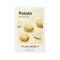 Маска для лица с экстрактом картофеля Missha Airy Fit Sheet Mask Potato 19 г (8809581454767)