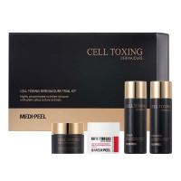 Набор омолаживающих миниатюр для лица и шеи Medi-Peel Cell Toxing Dermajours Trial Kit (8809409346762)