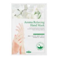 Маска для рук с расслабляющим эффектом Konad Niju Aroma Relaxing Hand Mask Pack 16 мл (8809109831896)