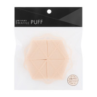 Спонж для макияжа Missha Waffle Puff (4P) (8809530055427)