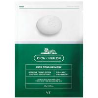 Маска тканевая с центеллой для яркости тона лица VT Cosmetics Cica Tone-Up Mask 28 мл (8809559624963)