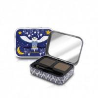 Тени для бровей SeaNtree Quick Styling Dual Eye Brow Cake - 01 Natural Brown 2,5г*2шт (8809476696524)