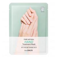 Питательная маска для рук The Saem Pure Natural Hand Treatment Mask 16 мл (8806164159316)