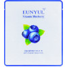 Укрепляющая тканевая маска для лица с черникой Eunyul Blueberry Mask Pack 30 мл (8809435401718)