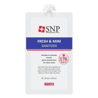 Гелевый санитайзер для рук SNP Fresh & Mini Hand Sanitizer 50 мл (8809550640917)