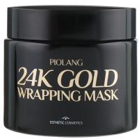 Маска-пленка антивозрастная с коллоидным золотом Esthetic House Piolang 24K Gold Wrapping Mask 80 мл (8809112541812)