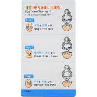 Очищение для пор A'pieu Hidden Solution Egg Nose Clearing Kit 3 шт (8806185723091)