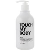 Увлажняющий гель для душа с козьим молоком Esthetic House Touch My Body Goat Milk Body Wash 500 мл (8809450011398)