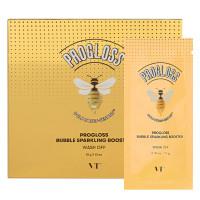 Пузырьковая маска с прополисом и золотомVT CosmeticsProgloss Bubble Sparkling Booster10шт*10г