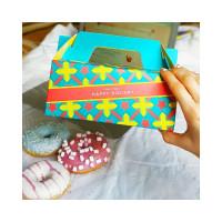 Зеленая подарочная коробочка (размер L) Happy Holiday Box (L) (8200028000062)