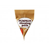 Питательная ночная маска для лица с тыквой Too Cool For School Pumpkin Sleeping Pack 2 мл (8809297211906)