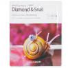 Маска для лица с алмазом и муцином улиткиThe Saem Beaute de Royal Diamond & Snail Intense Gel Mask 35 г (8806164151501)