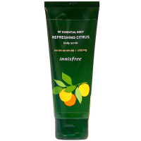 Освежающий скраб для тела Innisfree My Essential Body Scrub Refreshing Citrus 150 мл (8809612864633)