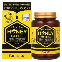 Медовая многофункциональная сыворотка для лица 3W Clinic All In One Honey Ampoule 250 мл (8809384922272)