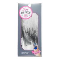 Наклейки для дизайна ногтей Etude House Play Nail Sticker #3 Silver Line (8806165960508)
