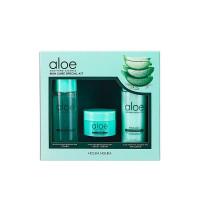 Набор миниатюр для ухода за лицом Holika Holika Aloe Soothing Essence SkinCare Special Kit 50мл/50мл/20мл (8806334380588)