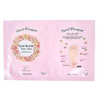 Маска-носочки для кожи ног с маслом ши Etude House Hand Bouquet Rich Butter Foot Mask 18г+18г